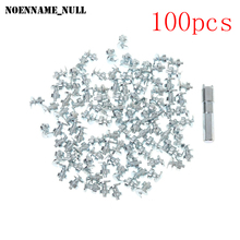 NoEnName_Null 100 Pcs Car Bike Motorcycle Wheel Tires Studs Screw Snow Spikes Chains Grip Winter(China)