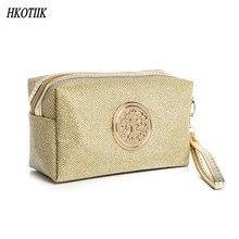 Europe and the United States popular ladies make-up package women zipper make-up bags portable travel main brand cosmetic bags(China)
