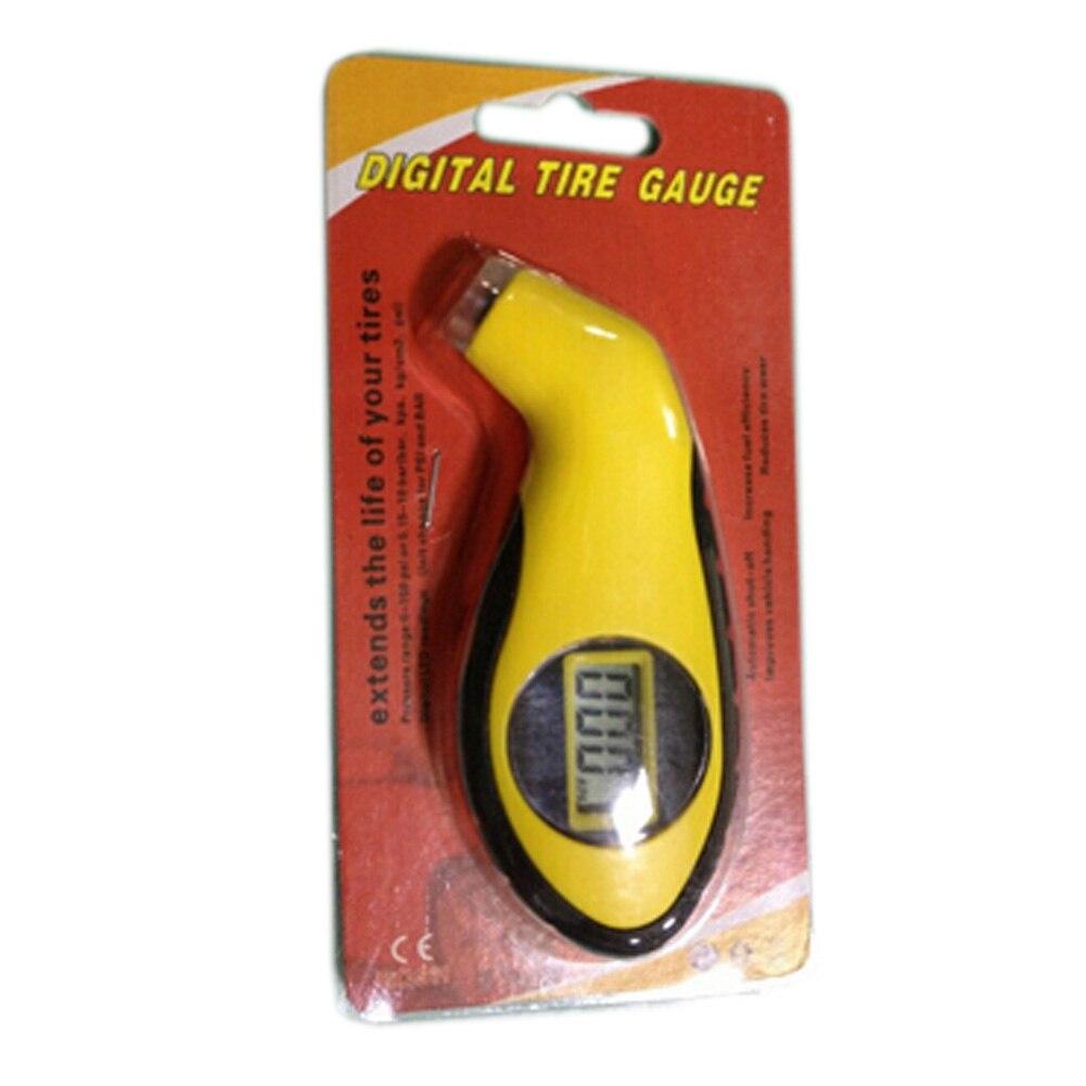 Diagnostic Tools tire pressure gauge Meter Manometer Barometers Tester Digital LCD Tyre Air For Auto Car Motorcycle Wheel New
