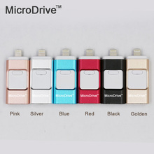 USB Flash Drive For iPhone 7/7plus/6/6s Plus/5s/5/5c/Ipad Pen drive Memory Stick OTG Pendrive 8GB 16GB 32GB 64GB