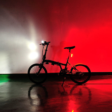 Bicycle LED Front Light + Warning Rear Lamp Set Mountain Bike Light Lamp Bycicle Light wholesale EA14