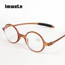586f993052 Imwete TR90 Glasses Round Reading Glasses Men Women Rimless Spectacles  Presbyopia Eyeglasses with Degree 1.5 2.0