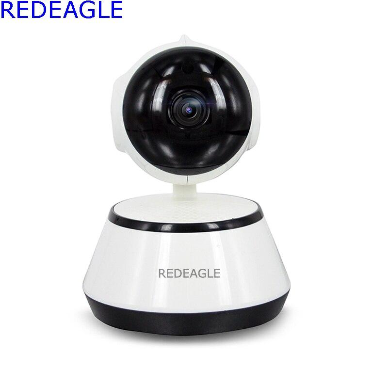 REDEAGLE 720P Wireless Pan Tilt WiFi IP Camera Security Surveillance CCTV Network IR Night Vision Wi-fi Webcam Baby Monitor<br>
