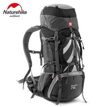 Naturehike Outdoor Backpack 70L Camping Backpacks Mountaineering Bag Men Women Sports Bag Travel Bags Waterproof Rucksack