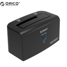 ORICO USB3.0&eSATA Hard Drive Docking Station Support 10TB Storage SuperSpeed hard drive for 2.5 & 3.5 inch HDD & SSD (8618SUS3)(China)