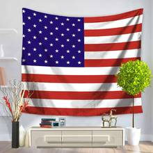 World Cup National flag Tapestry Wall Hanging Home Living Room Bedroom Ornament Tapestry Soccer fans shawl blanket 200*150cm(China)