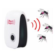 US/EU Plug Ultrasonic Electronic Mosquito Repeller Anti Pest  Reject  Bugs Mice Rockroach Repeller Control