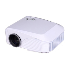 New 2000 Lumens 800*600 Portable Mini LED Projector for Video Film Home Theater Business Office Support HDMI USB AV VGA TF