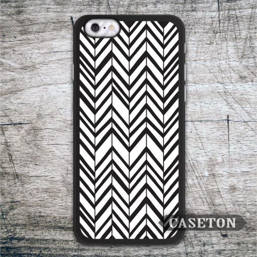 Black and White Chevron font b Case b font For font b iPhone b font font