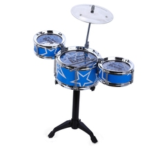 Excellent Musical Toddler Toys Jazz Drum Rock Set Music Educational Toy Kids Early Learning Musical Drum Toys For Children