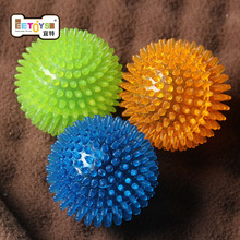 Funny Pet Dog Puppy Playing Toys Chew Squeaker Ball To Teeth rubber Sound for Small Medium Large Dog Training Pet Accessories(China)