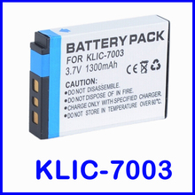 Lithium-Ion Rechargeable Battery Pack for Kodak KLIC-7003 and Kodak Easyshare M380, M381, M420, V1003, V803, Z950 Digital Camera