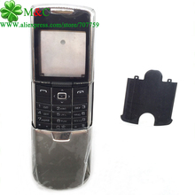Metal 8800 Classic Housing Cover Case For Nokia 8800 Classic Housing With Keypad Repair Part 3 Colors Free Tracking