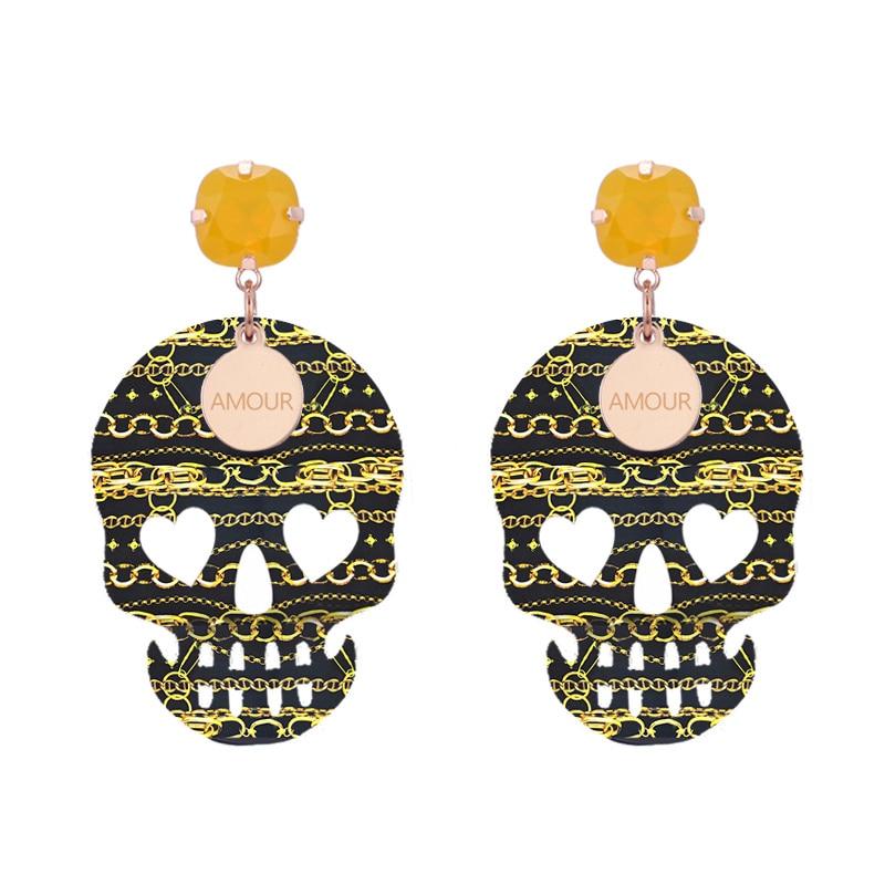 Earrings For Woman pendients drop Earrings 2018 summer now color (1)