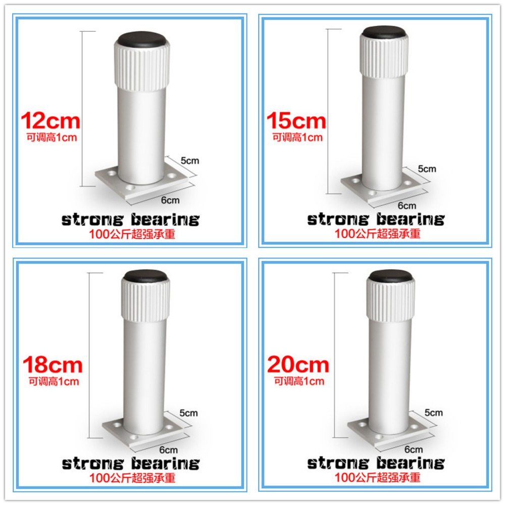 12cm/15cm/18cm/20cm Aluminum Alloy cabinet leg sofa leg with silicon base Furniture Caster<br><br>Aliexpress