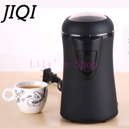 MINI electric coffee beans grinders Stainless steel Household small Coffee quick grinding machine Grain mill pulverizer EU plug<br>