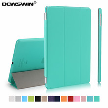 case for ipad air,dowswin magnetic smart auto sleep pu top Ultra Slim Light weight Translucent pc back for ipad A1475 A1476