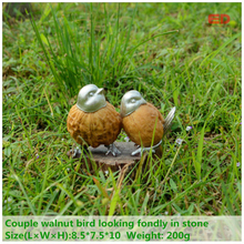 ED original quality design Creative garden home bird decoration desktop ornaments resin cute artificial living room decoration(China)
