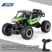 JJR/C Original RC Cars SUV Model Q15 1:14 2.4GHz 4WD Alloy RTR Rock Crawler Off-road Vehicle RC Car Radio Remote Control Toys(China)
