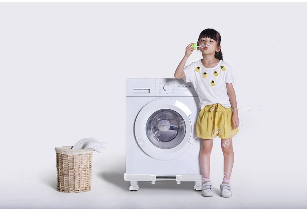 Universal Height Adjustable Washing Machine Stainless Steel Base