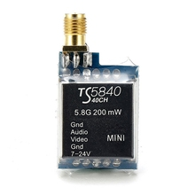 Hot Sale Eachine TS5840 Upgraded 40CH 5.8G 200mW Wireless AV Transmitter TX for FPV Multicopter RC Quadcopter Part