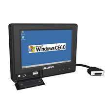 LILLIPUT PC-765 7 inch Embedded All In One PC with OS WinCE 6.0 Linux 2.6.32 comply with IP64