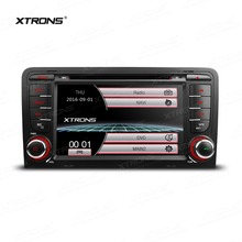 XTRONS 7 inch 2 din Touch Screen Car DVD Plater GPS Navigation Radio for Audi A3 8P/A3 8P1 3-door Hatchback/S3 8P/RS3 Sportback(China)