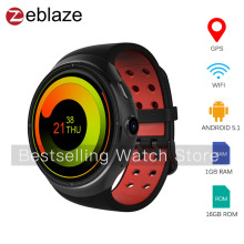Zeblaze THOR 3G Smart Watch Phone Android 5.1 1.4 inch Quad Core 1.3GHz 1GB RAM 16GB ROM Bluetooth WIFI Smart Wristwatch