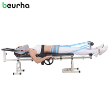Cervical Lumbar Traction Bed Lumbar Tractor Health Care Protective Devices Cervical Lumbar Fatigue Therapy Massage Minor Injurie(China)