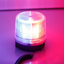 1PCS Red Blue LED Beacon Strobe Flash Warning Vehicle Police Light Car Flashing Firemen Emergency Fog Lights Free shipping