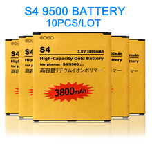 10PCS/LOT B600BC Rechargeable Li-ion battery For Samsung Galaxy S4 B600BE i9500 i9508 i9502 i959 i9505 9500 battery(China)
