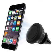 Universal 360 Car Air Vent Mount Sticky Stand Magnetic Phone Holder Case Cover For iPhone 5 5s SE 6 HTC Xiaomi mi 5 note 2 3 4 5