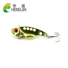 Hengjia 4cm 7g hard metal vib fishing lures artificial vibration wobbler catifsh baits blade pike pesca tackles - Trading store