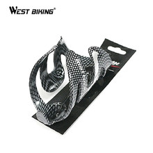 WEST BIKING Carbon Fibre Water Bottle Cage Cycling Carbon Water Bottle Holder Portaborraccia Bidones Bicicleta Porta Borraccia