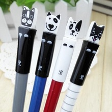 Hot sale student stationery new arrival fashion cute Dog series gel pen.0.35mm.student tool school office use office school supp