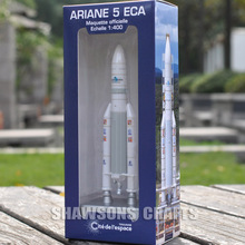 1:400 EUROPEAN SPACE ROCKET MODEL COLLECTION TOY ARIANE 5 ECA REPLICA(China)