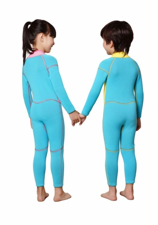 WDS-8001-4 Neoprene Wetsuit Children Kids Style Warm Switsuit Rash Guards