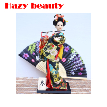 Japanese Dolls Geisha Doll Ornaments Humanoid Furnishings Limited Collection Home / Restaurant Decoration Essential liren
