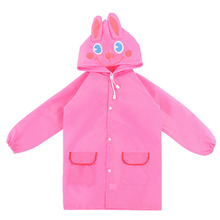 1pc Cartoon Waterproof Kids Raincoat Animal Style  For children Rain Coat Rainwear/Rainsuit Student Poncho