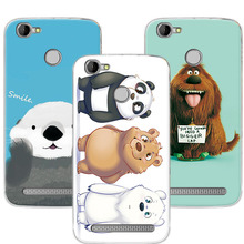 "Buy Cartoon Bear Cases Coque Homtom HT50 5.5"" Colorful Printed Soft TPU Case Cover Homtom HT50 Funda for $1.35 in AliExpress store"