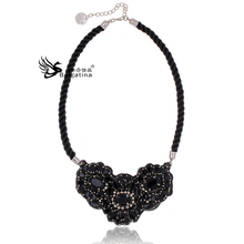 Crystal necklace necklace  top quality gold chain patterns for women factory wholesale and retail