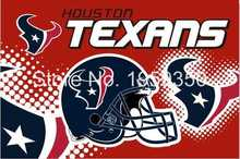Houston Texans Helmet Flying Flag Banner flag 3ft x 5ft 100D Polyester 90x150cm 40151(China)