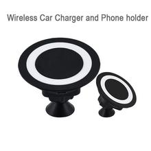 Universal Car Qi Wireless Charger Pad Sticky Phone Holder Charging Dock Adapter For Samsung iPhone 5 5S 6 6S Xiaomi More Phones(Hong Kong,China)