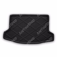 Areyourshop Car Auto Cargo Mat Boot liner Tray Rear Trunk Sticker Dog Pet Covers For Subaru XV Crosstrek 2013-2014 Car-Styling(China)