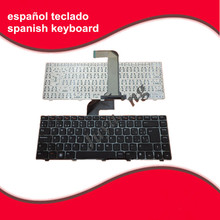 Spanish keyboard For Dell for Inspiron 14R N4110 M4110 N4050 M4040 N5050 M5050 M5040 N5040 Vostro 3550 Laptop SP Keyboard