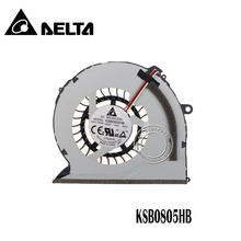 New CPU cooler Fan For Samsung NP550P5C NP550P7C NP-550P5C NP-550P7C KSB0805HB BK2T