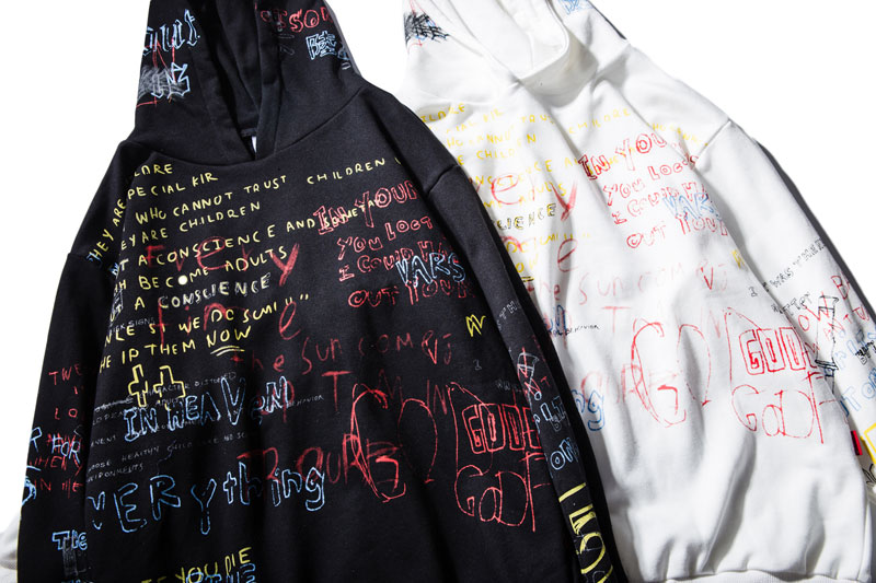 Graffiti Hoodies 8