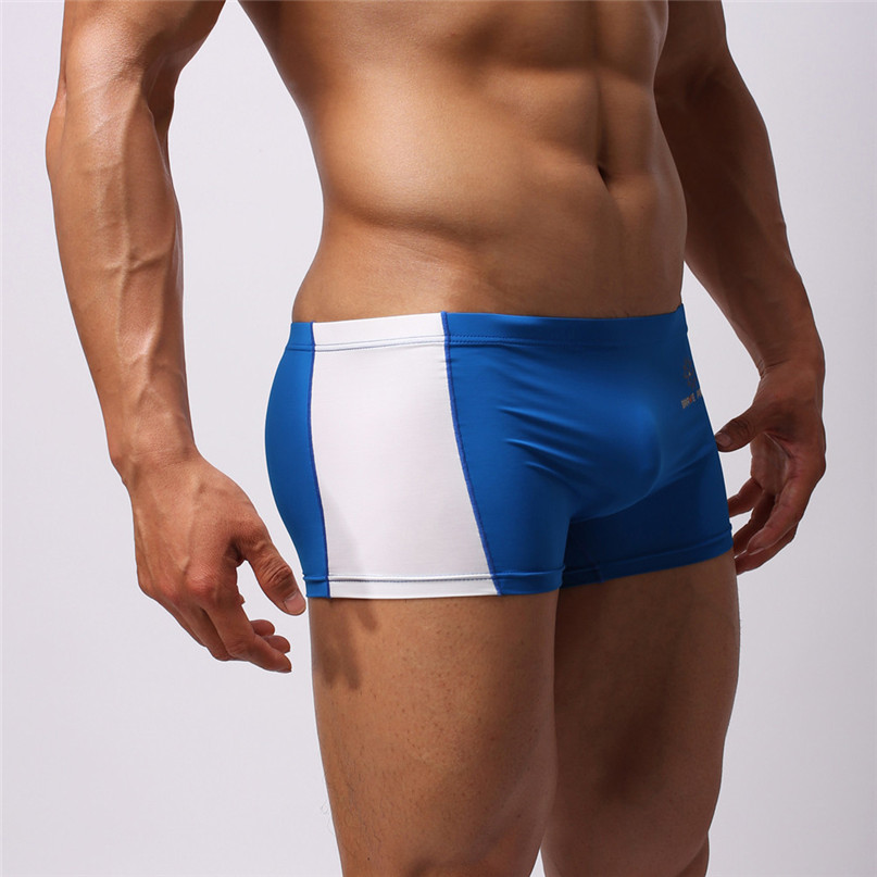 Mens Sexy Briefs Swimwear Running Boxer shorts Beach Underwear Trunk Underpants Swim Casual Quick-drying Swimwear New #2J19 (10)