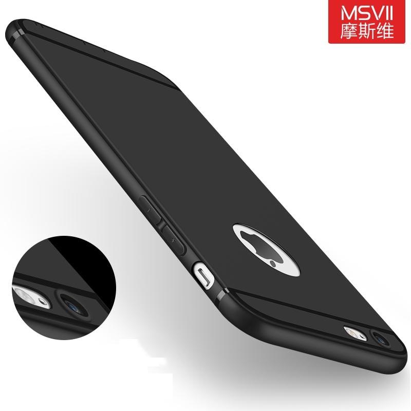Original MSVII luxury soft silicon Case for apple ...