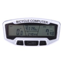 Waterproof Bike Cycling LCD Computer Odometer Bicycle MTB Speedometer Velometer With Backlight ciclismo bicicleta High Quality(China)